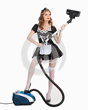 sexy cleaner